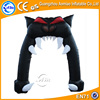 Cat mouth shape arch inflatable halloween arch for decoration