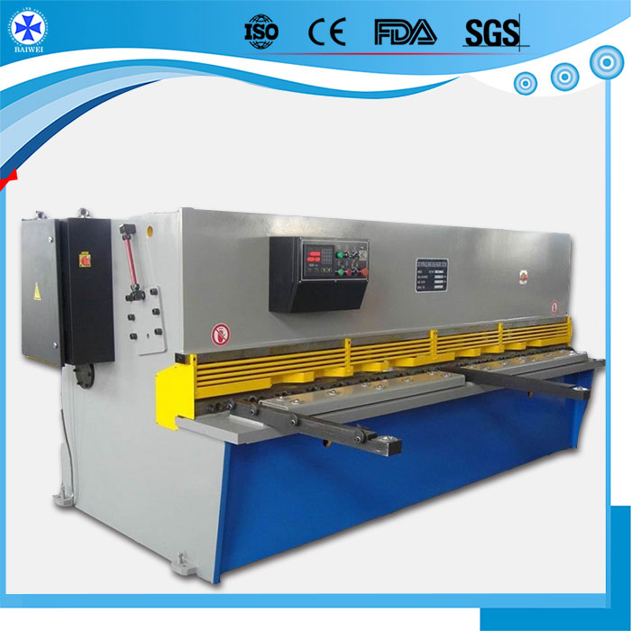 used hydraulic metal shearing machine