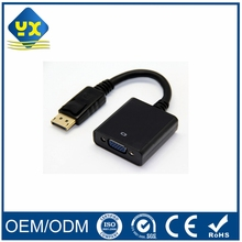 DP Display Port Male to VGA Female Adapter Cable HDTV VGA15pin to DP Converter
