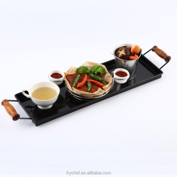 Restaurant & Hotel Supplies Non-Slip Serving Tray Metal Type F0112