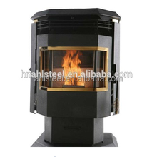Small Smokeless Steel Wood Burning Pellet Stoves HP24