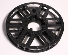 FRT carbon fiber factory can make OEM carbon fiber parts for rc quadcopter/CNC cutting service