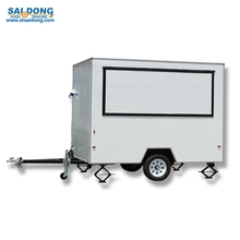 Made in China Mobile snack trailer van fast food trailers for sale snacks/Breakfast cart