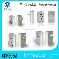All universe new design new lifestyle smart socket with USB plug support wifi control and ODM/OEM adapter outlet uk, us , europe