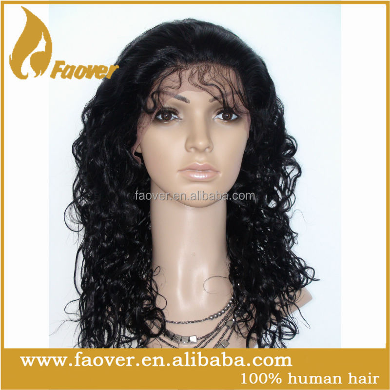 Cheap 100 percent human hair full lace wigs lace cap for wig making