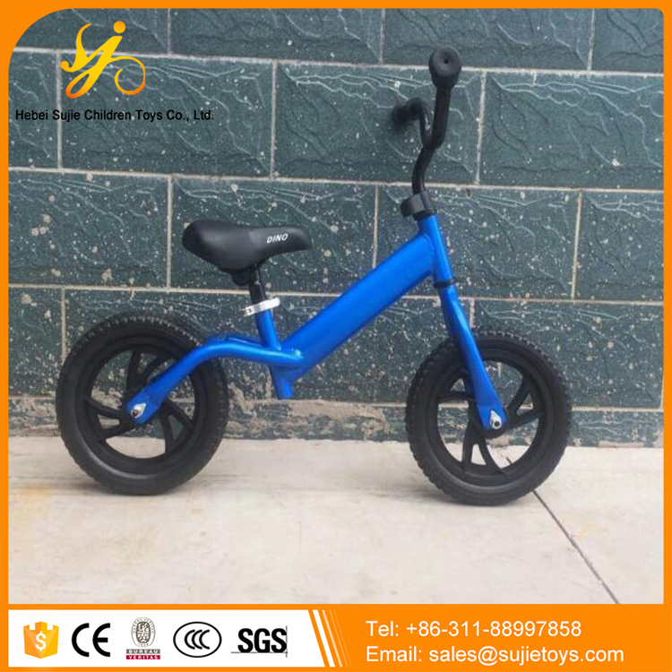 High quality air tire two wheels no pedal kids balance bike for children