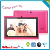 Hot sell 7 mid cheapest tablet pc All winner Q88 android 4.4 game android tablet prices in pakistan