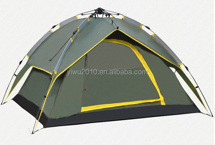 High quality Instant tent Automatic camping tent 3-4 person Double layer