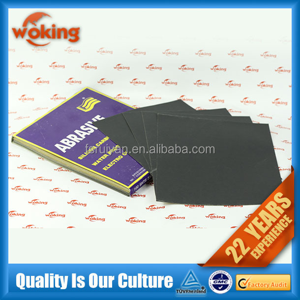 Wet and Dry Abrasive Sandpaper Manufacturers
