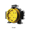 Elevator part 800KG 1000KG 340V gearless elevator traction motor
