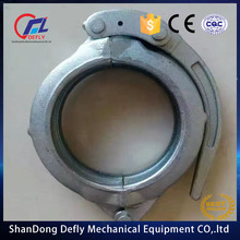 PM and Schwing DN125 forged/casting concrete pump pipe snap coupling /clamps dn125 and spare parts for pump truck