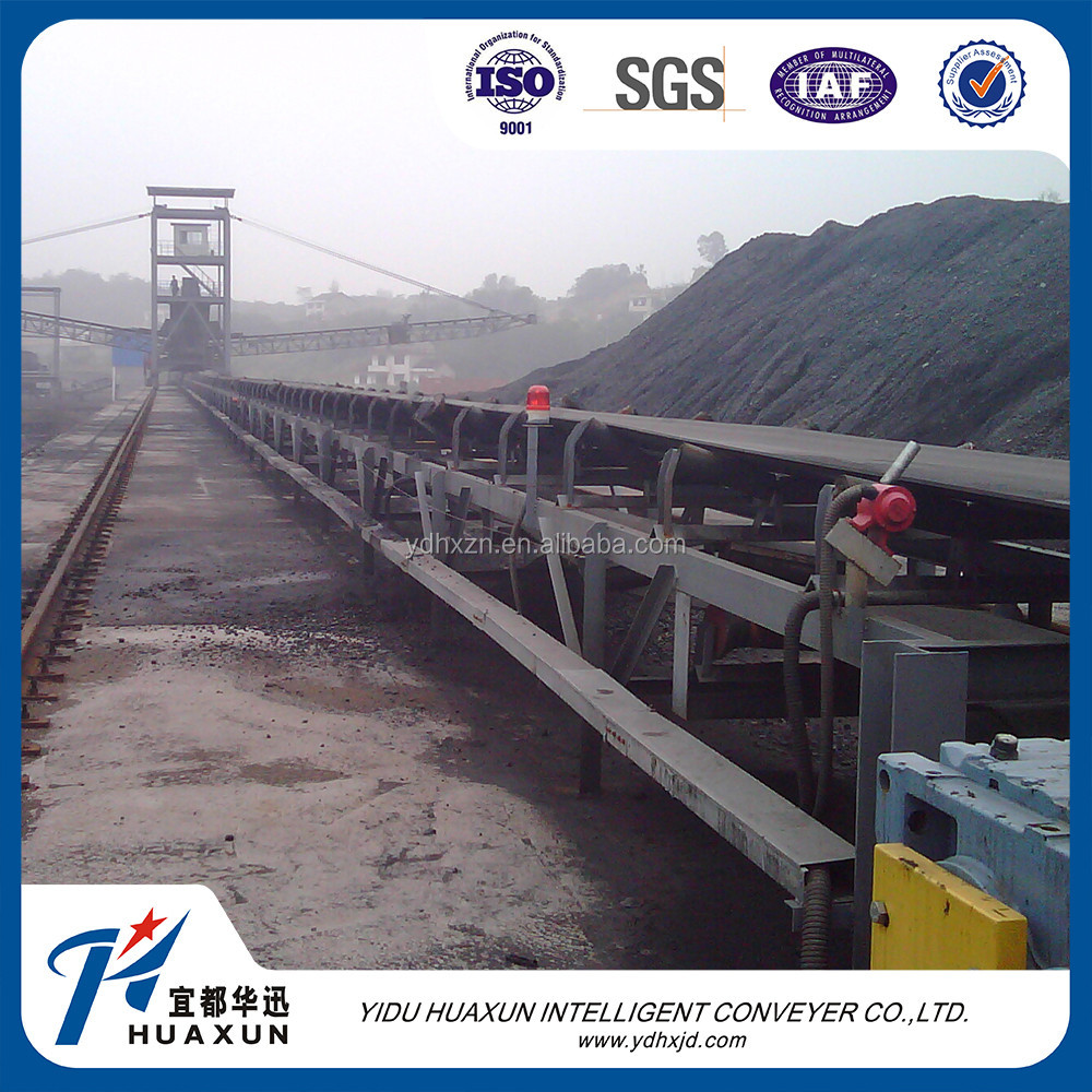 Raw material handing system fixed conveyor belt machine
