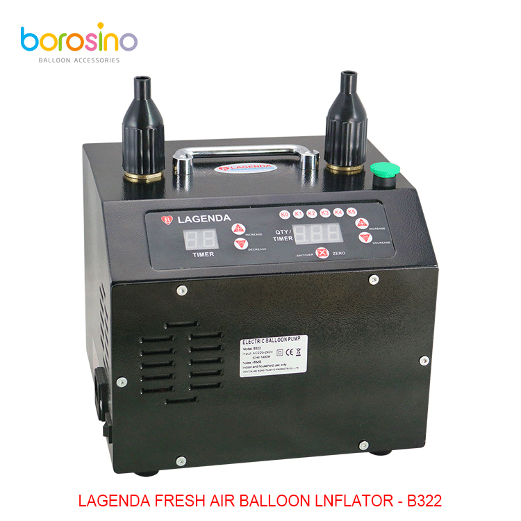 B322 Lagenda Electric Balloon Blower Pump Multifunctional Air Inflator Balloon Pump