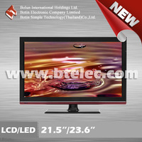 "Wholesale 21.5"" LCD TV 23.6"" LED TV with recycel panel Thailand"