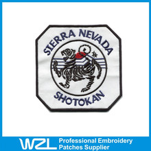Custom Embroidered Patches large sew on patch with high quality