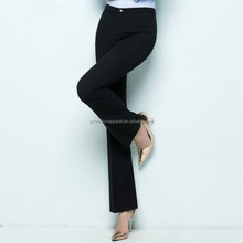 casual business wear anti-wrinkle straight formal trousers for women