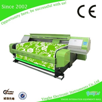 roll to roll Digital flatbed sublimation printer