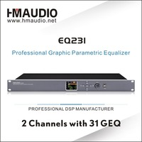 EQ231 dual channel 31 bands GEQ Graphic Equalizer