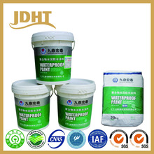 JS polymer modified cementitious waterproof coating paint