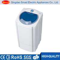 Semi-automatic electric portable mini laundry clothes spin dryer machine