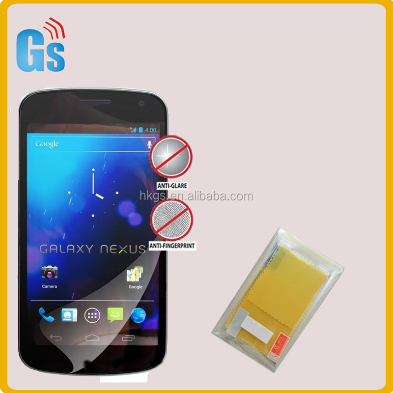 High Clear PET Screen Protector For Samsung Galaxy Nexus I9250 Spare Parts