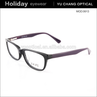 fashion acetate material eyewear plastic latest design spectacles frame classical optical glasses frame