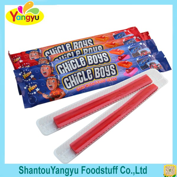 Chile Boys Gum with Fruit Jelly