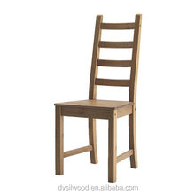 Solid wood ladder back chair kitchen dining room furniture