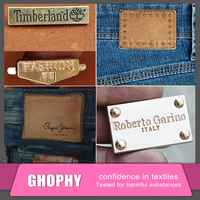 fake designer labels,metal labels,high quality leather label