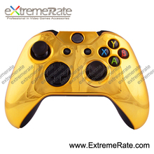 for xbox one controller chrome gold front shell without buttons