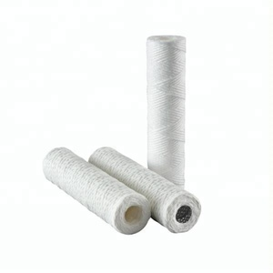 1 to 100 Micron Sediment PP Yarn String Wound Water Cartridge Filter