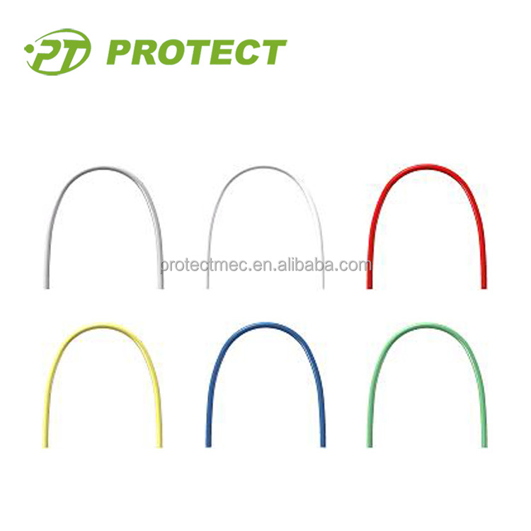 Dental Orthodontic White Coated Arch Wire