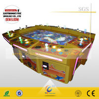 game center electronic fish machine seafood paradise 2 fishing machine use card system