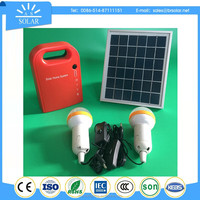 credible low price solar power system with solar panel / battery