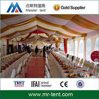 Large span clear wedding tent from china manufactory
