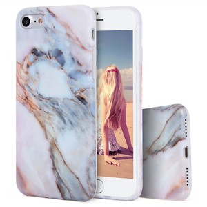 C&T Case For iPhone7,Glossy Marble Series Soft TPU Cover For iPhone7,for iPhone7 Phone Case