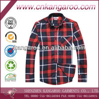 2104 new style men's spring or fall twill plaids casual shirt