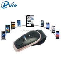Wireless Bluetooth vehicle kit V3.0+EDR Visor Speaker Phone Handsfree Vehicle Kit Equipped with high-fidelity speakers