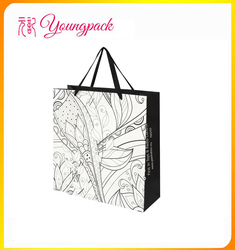 2016 Wholesale high quality large paper shopping bags