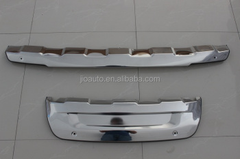 Car accessories stainless steel car front and rear bumper guard board style for ford explorer 2013