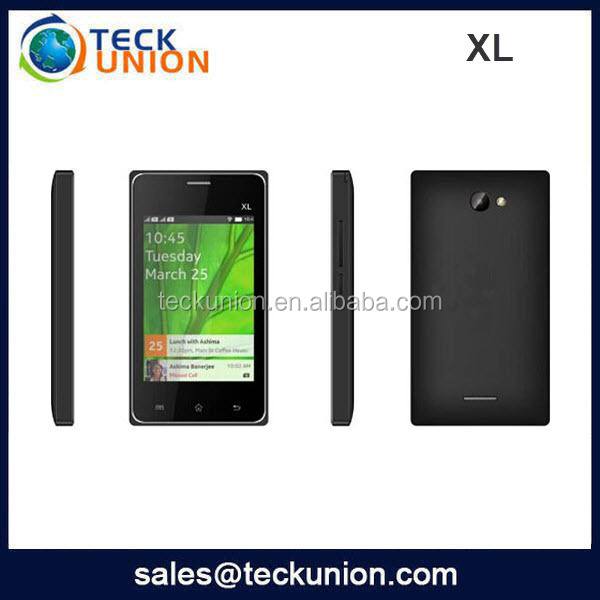 XL 3.5inch Capacitive screen phone mobile download games for mobile touch screen techno phone