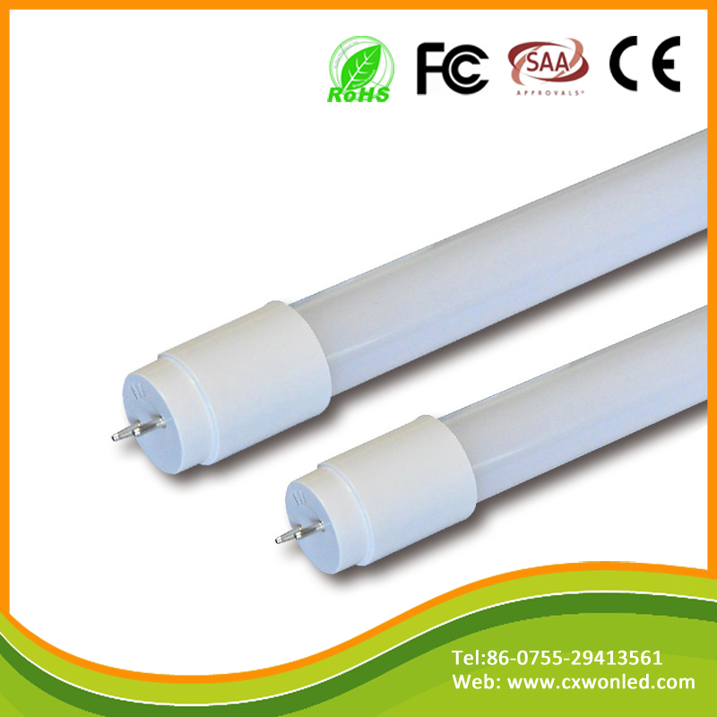 ultra cheap and high quality Smd2835 G13 base Glass 320 Degree T8 led tube light 1.2m 18w