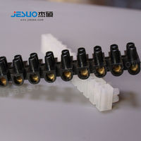 china 12 pole electrical feed through low voltage screw plastic terminal block connector