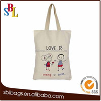2016 Fashion Canvas Tote Shopping Canvas Bags