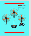 "18"" industrual fan 3 in 1 FS-4508"