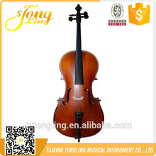 TL011 Made in china Handmade Antique Matte Cello With Case Popular 4/4 Professional Cello