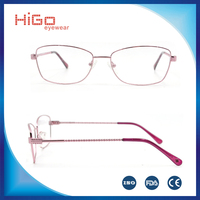 Hot sale stainless steel optical eyeglasses full rim with high quality