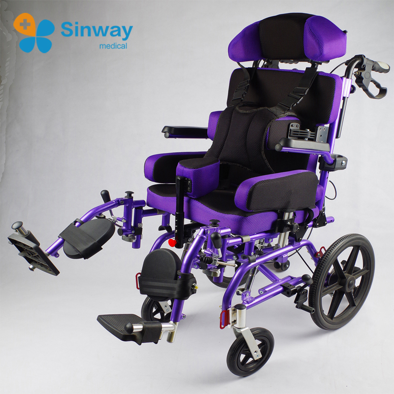 Aluminum Rehabilitation Cerebral Palsy Wheelchairs For Children