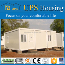 Hot sale two layer luxury finished prefab shipping container homes/house