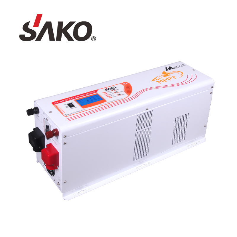 GIFT Hybrid on Grid Solar Inverter 6KW Adc 48v Big MPPT Charger 60A Hybrid Solar Power Inverter For Home Solar System